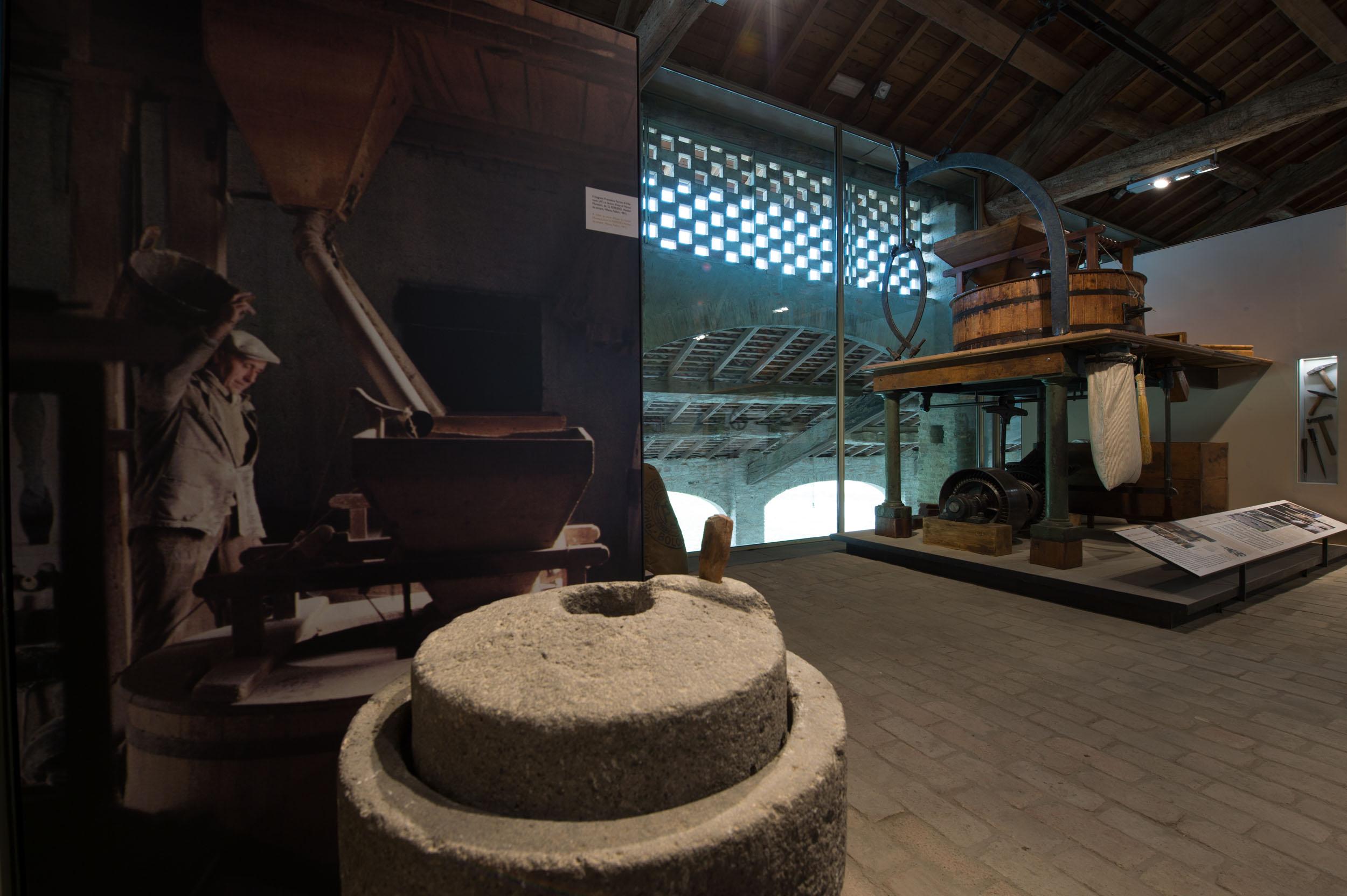 Pasta Museum in Collecchio (PR), interior n. 1 (Picture by L. Rossi)