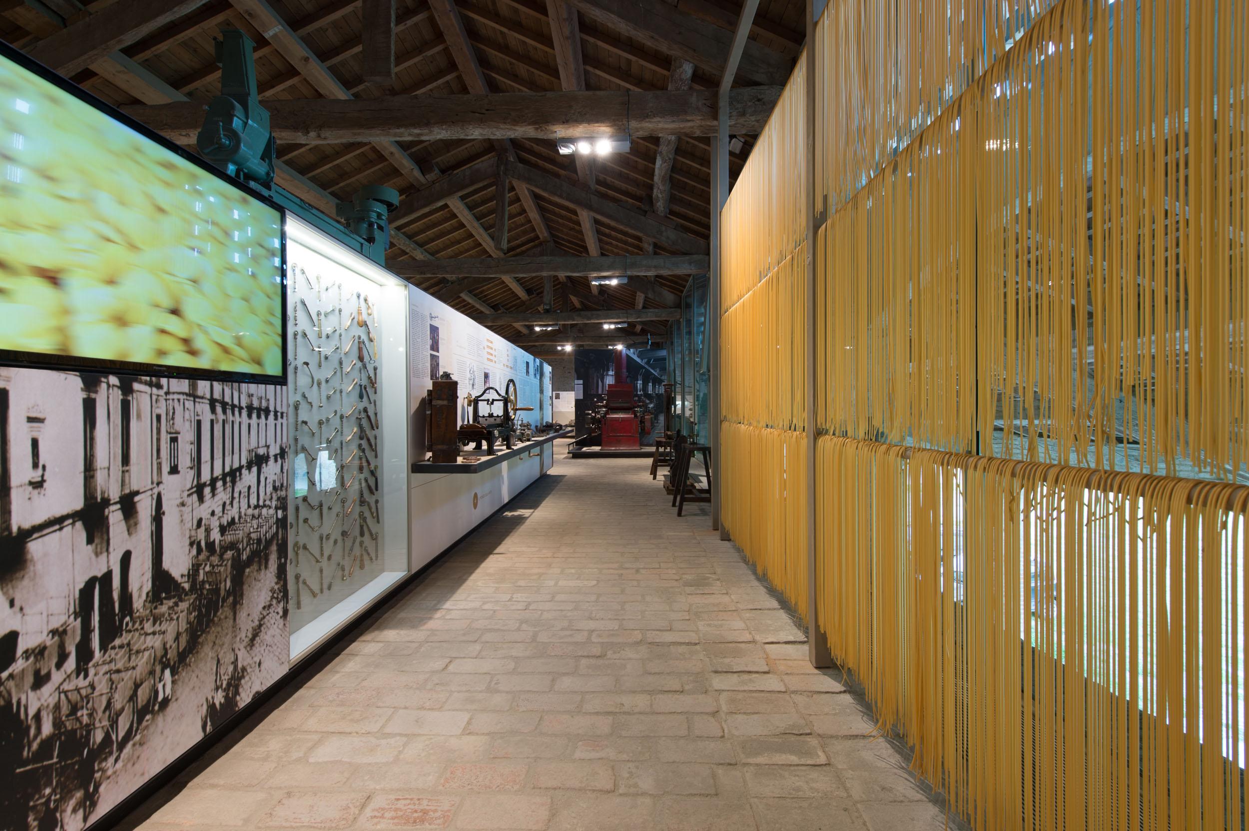 Pasta Museum in Collecchio (PR), interior n. 2 (Picture by L. Rossi)