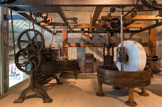 Pasta Museum in Collecchio (PR), interior n. 3 (Picture by L. Rossi)