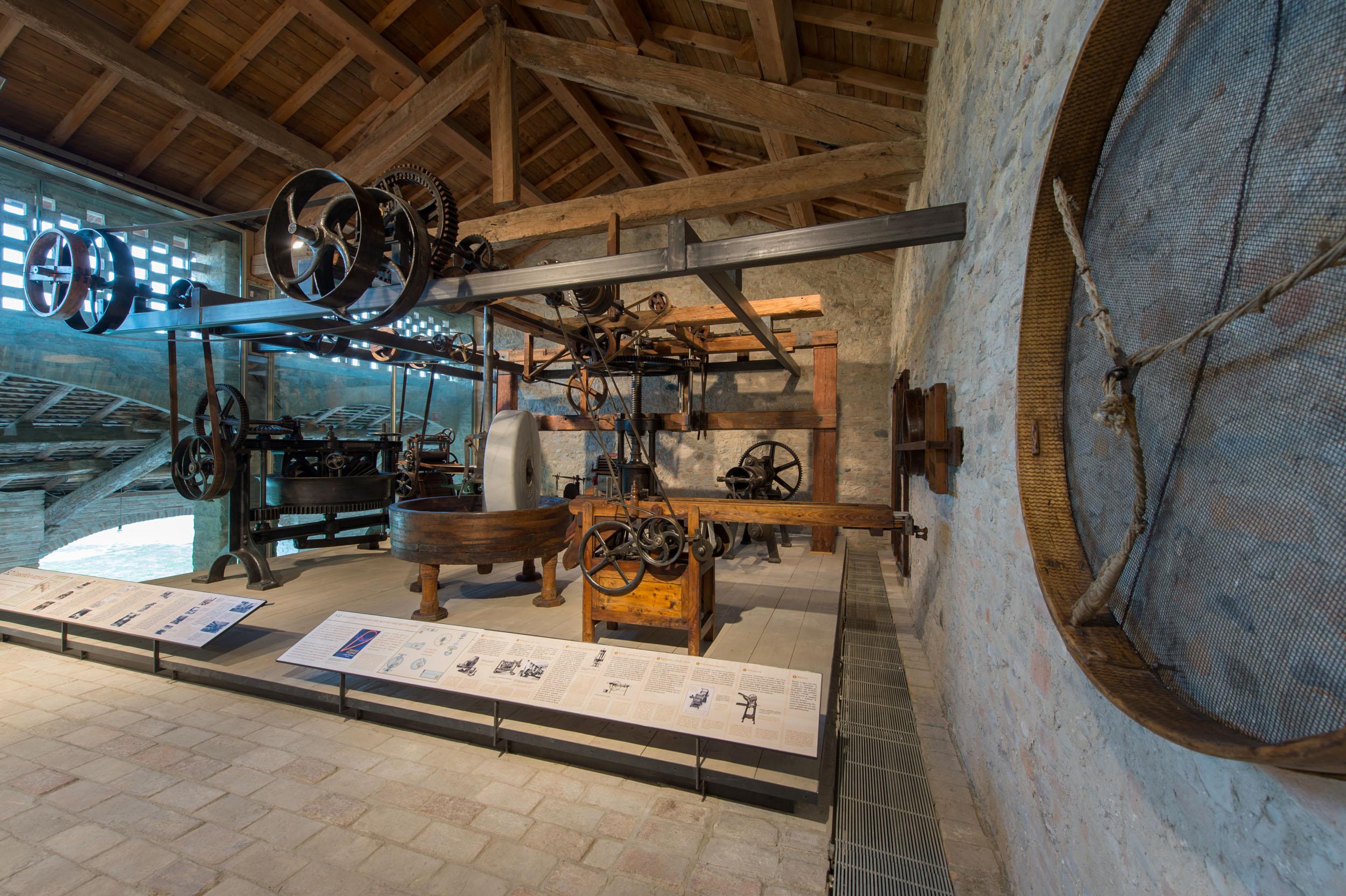 Museo Della Pasta Collecchio (PR) Interno 4 (Foto L. Rossi)