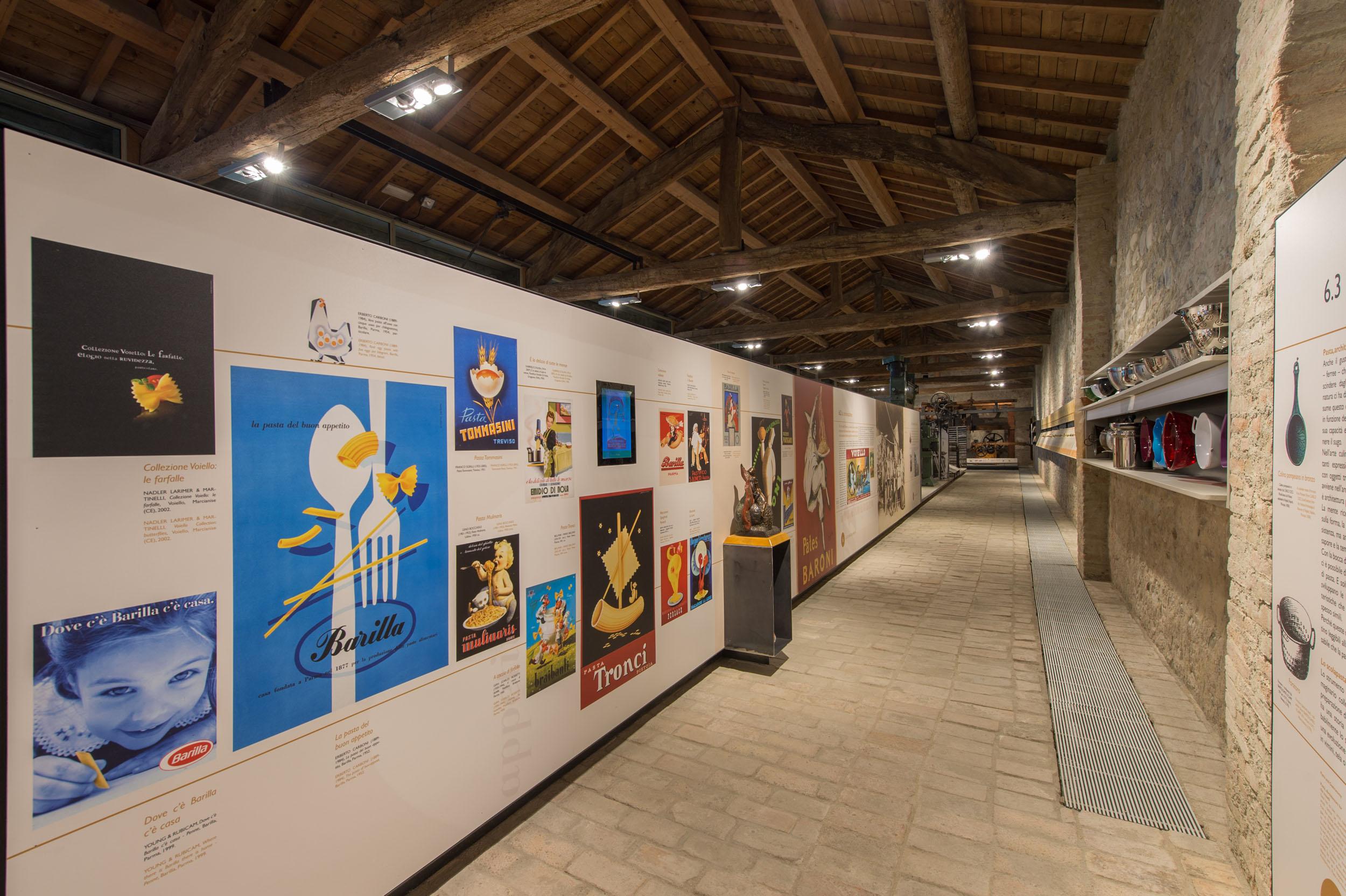 Pasta Museum in Collecchio (PR), interior n. 6 (Picture by L. Rossi)
