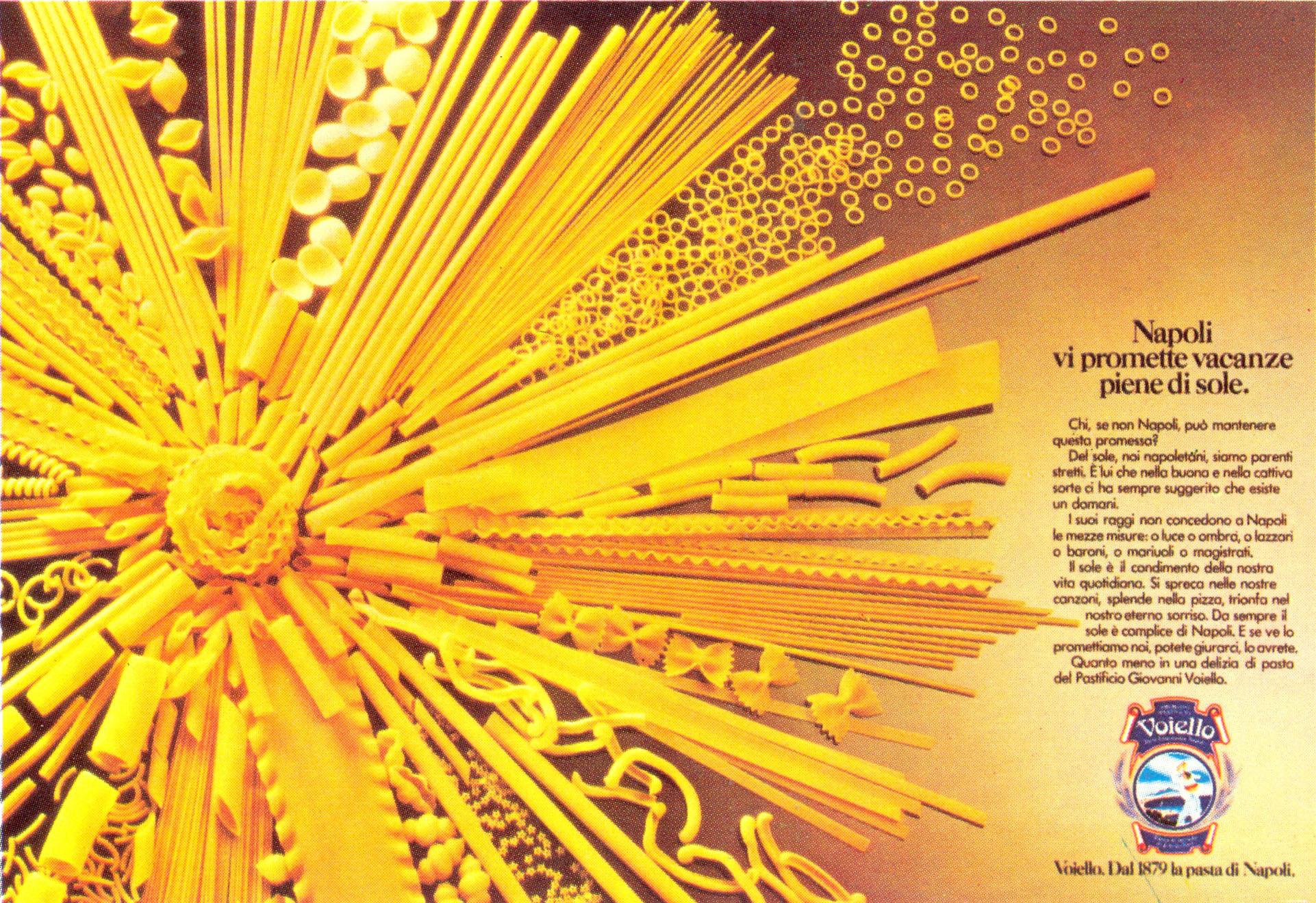 Voiello advertising campaign, 1983
