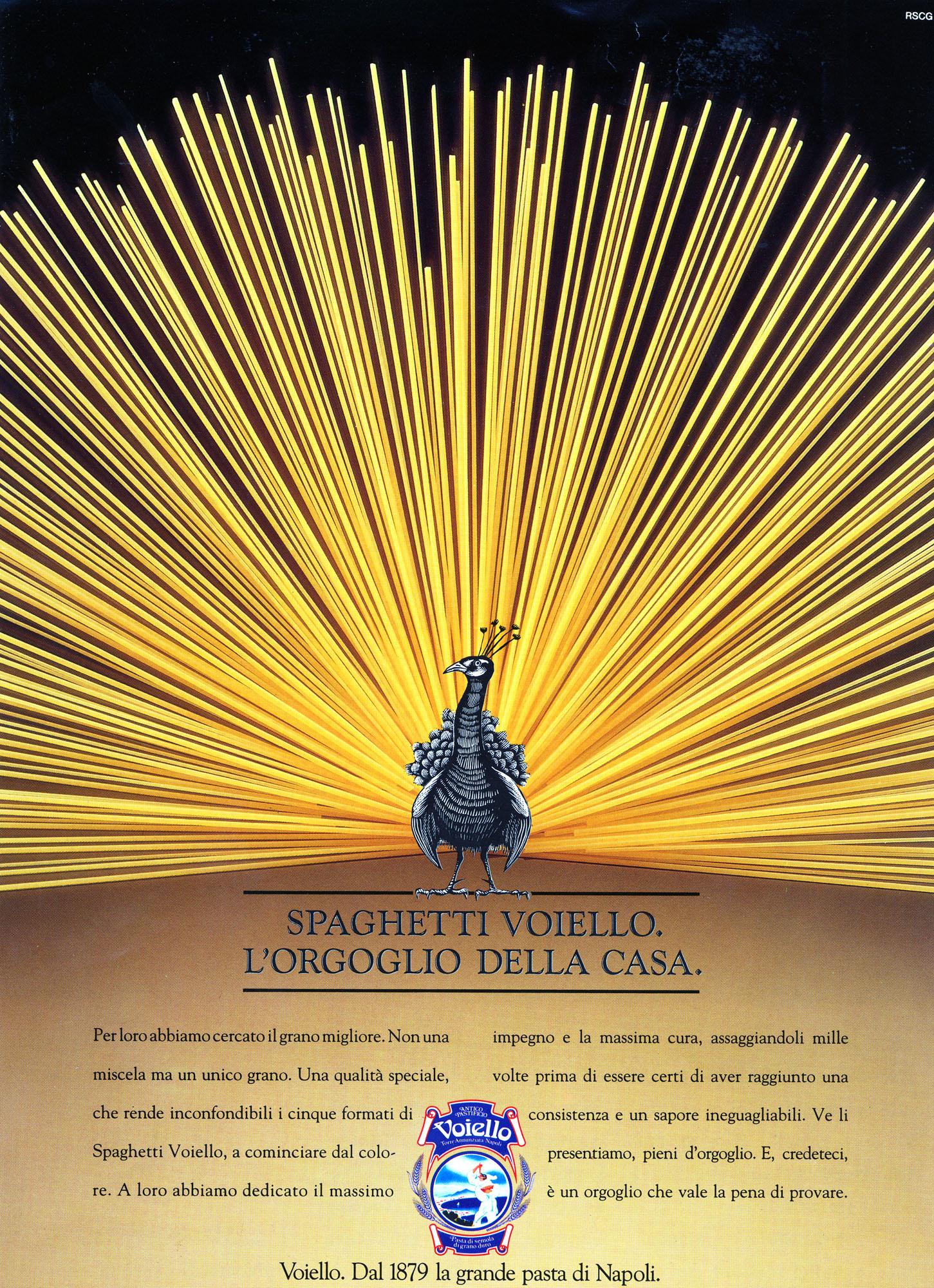 Voiello advertising campaign, 1985