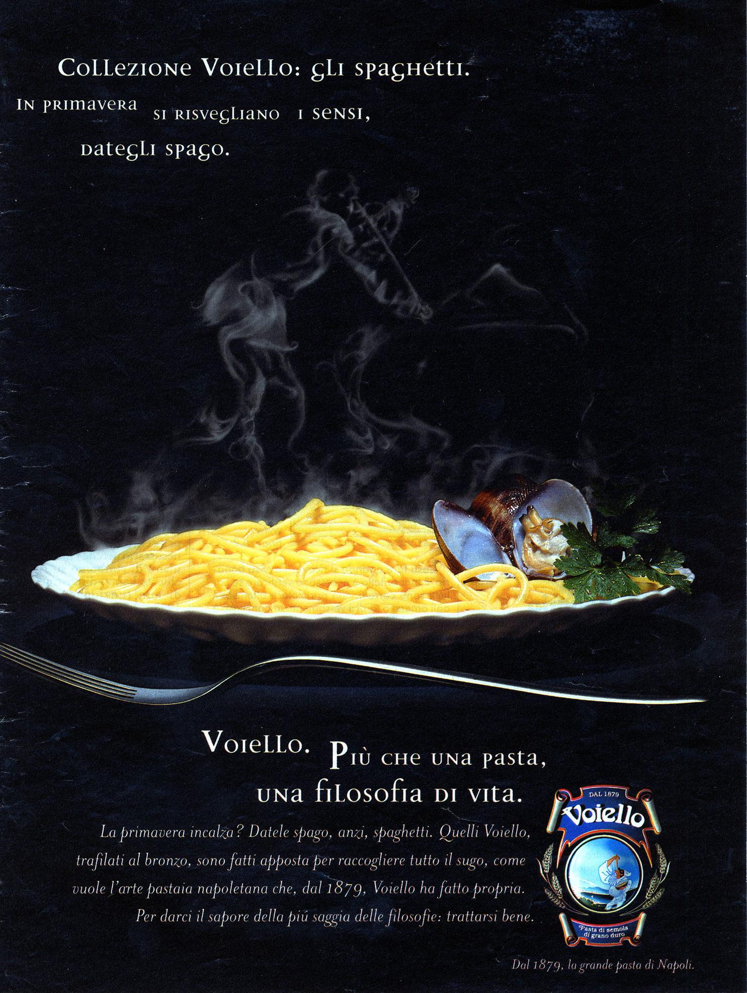 Voiello advertising campaign, 2001