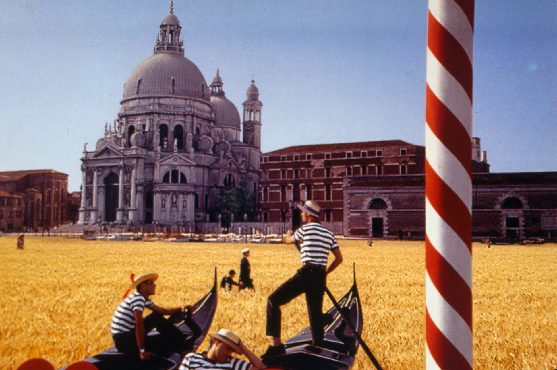 TV advertising - Squares Series, Venice, 1994