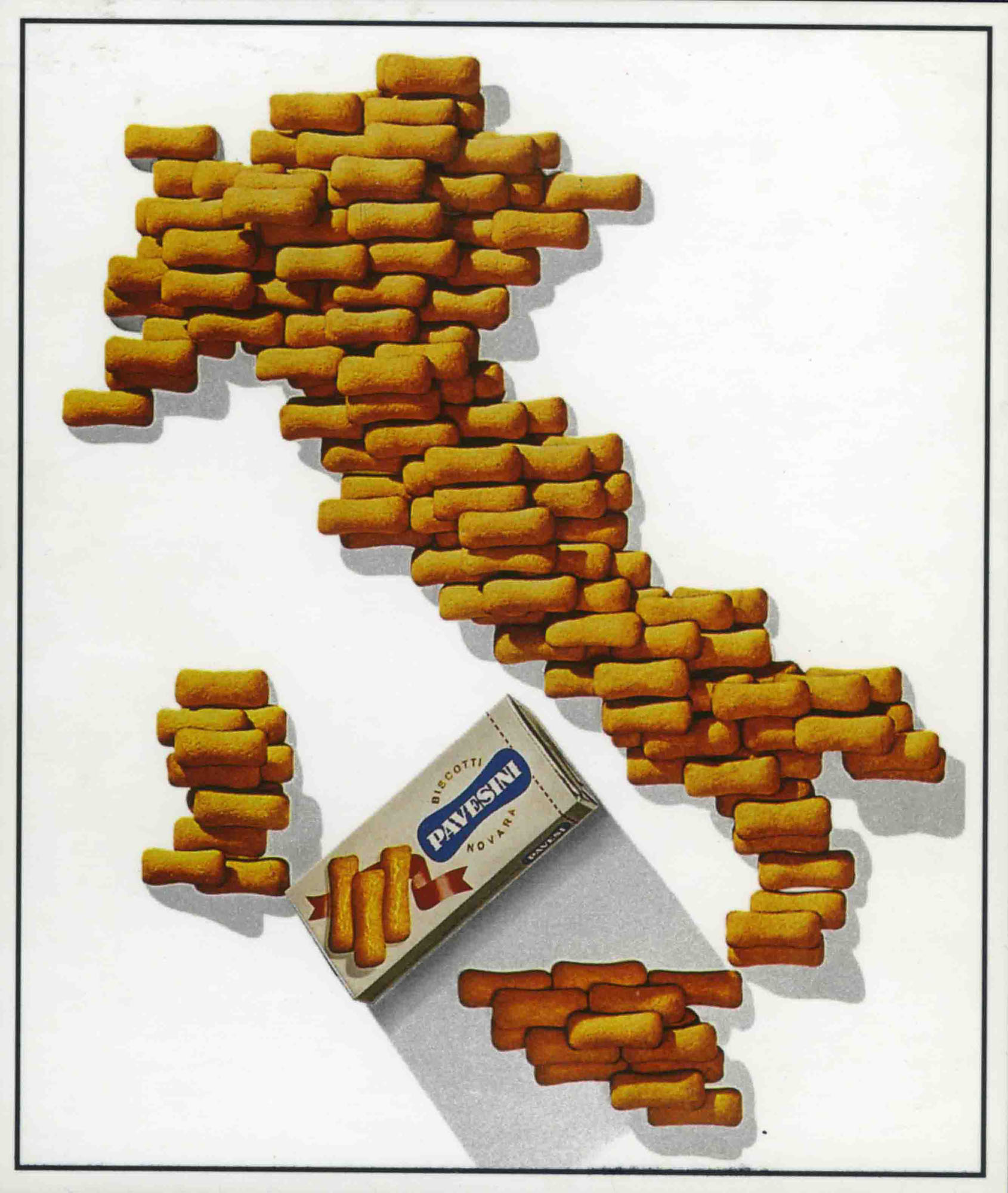 Pavesini posters - Erberto Carboni, Italy of Pavesini 1964