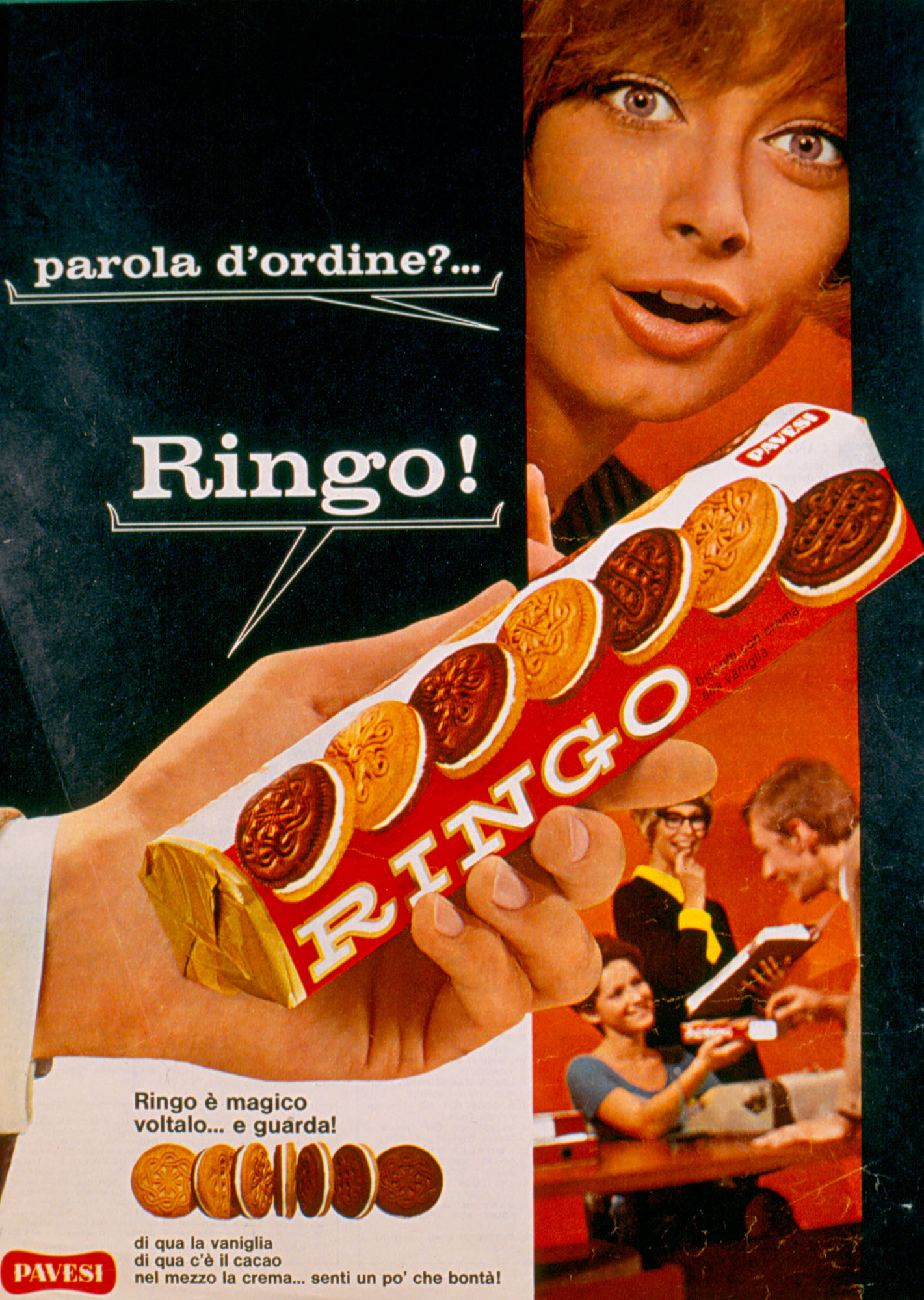 Press advertising - Parola d'ordine_Ringo!, 1969 [Password_Ringo!, 1969]