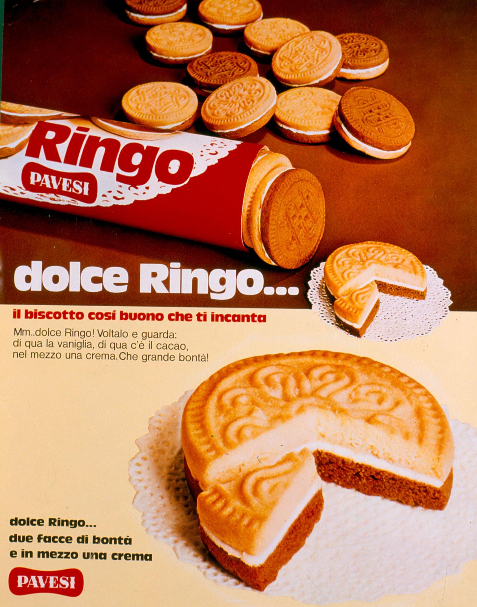 Pubblicità stampa - Dolce Ringo, 1973