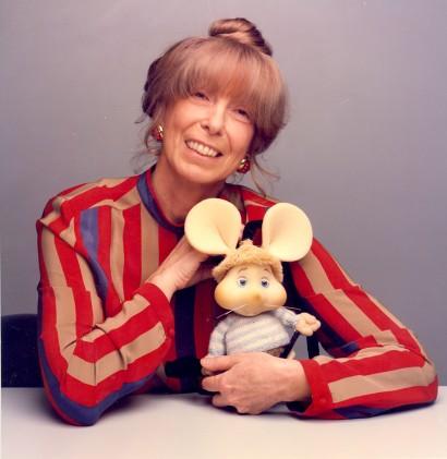 Maria Perego creatrice del pupazzo di Topo Gigio