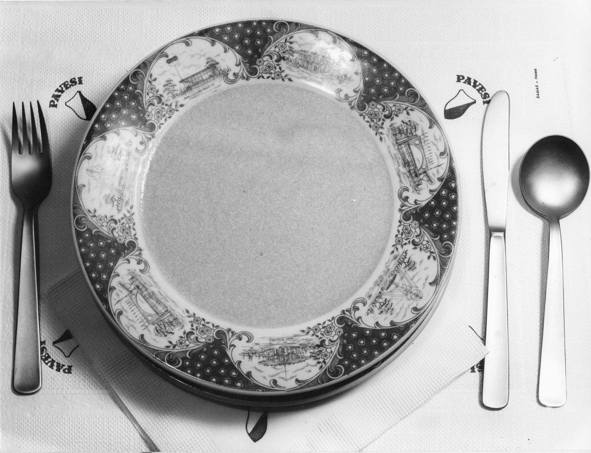 Un piatto personalizzato degli Autogrill Pavesi