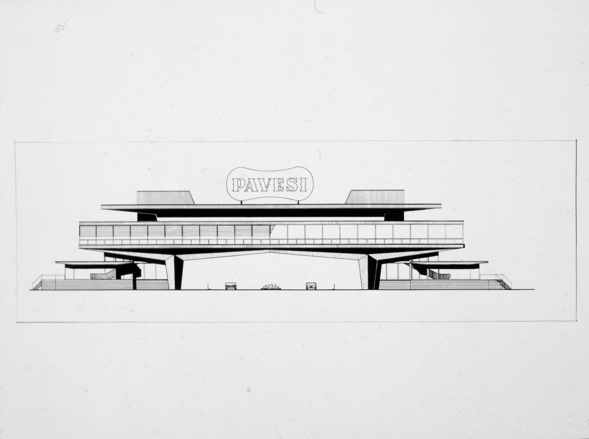 Novara Service Station, project