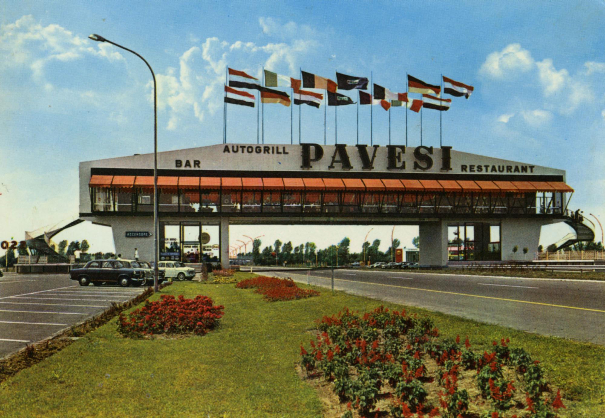 Cartoline Autogrill Pavesi - Fiorenzuola d'Arda