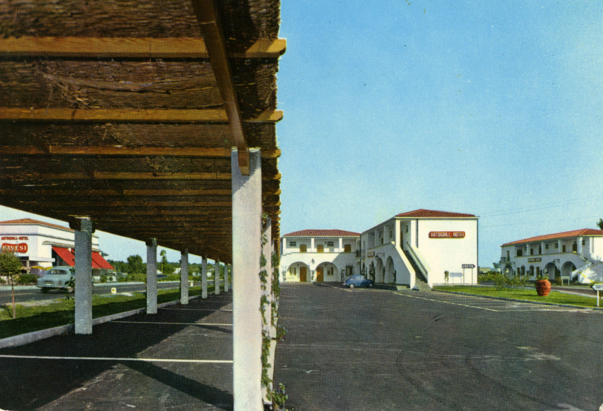 Cartoline Autogrill Pavesi - Torre Annunziata