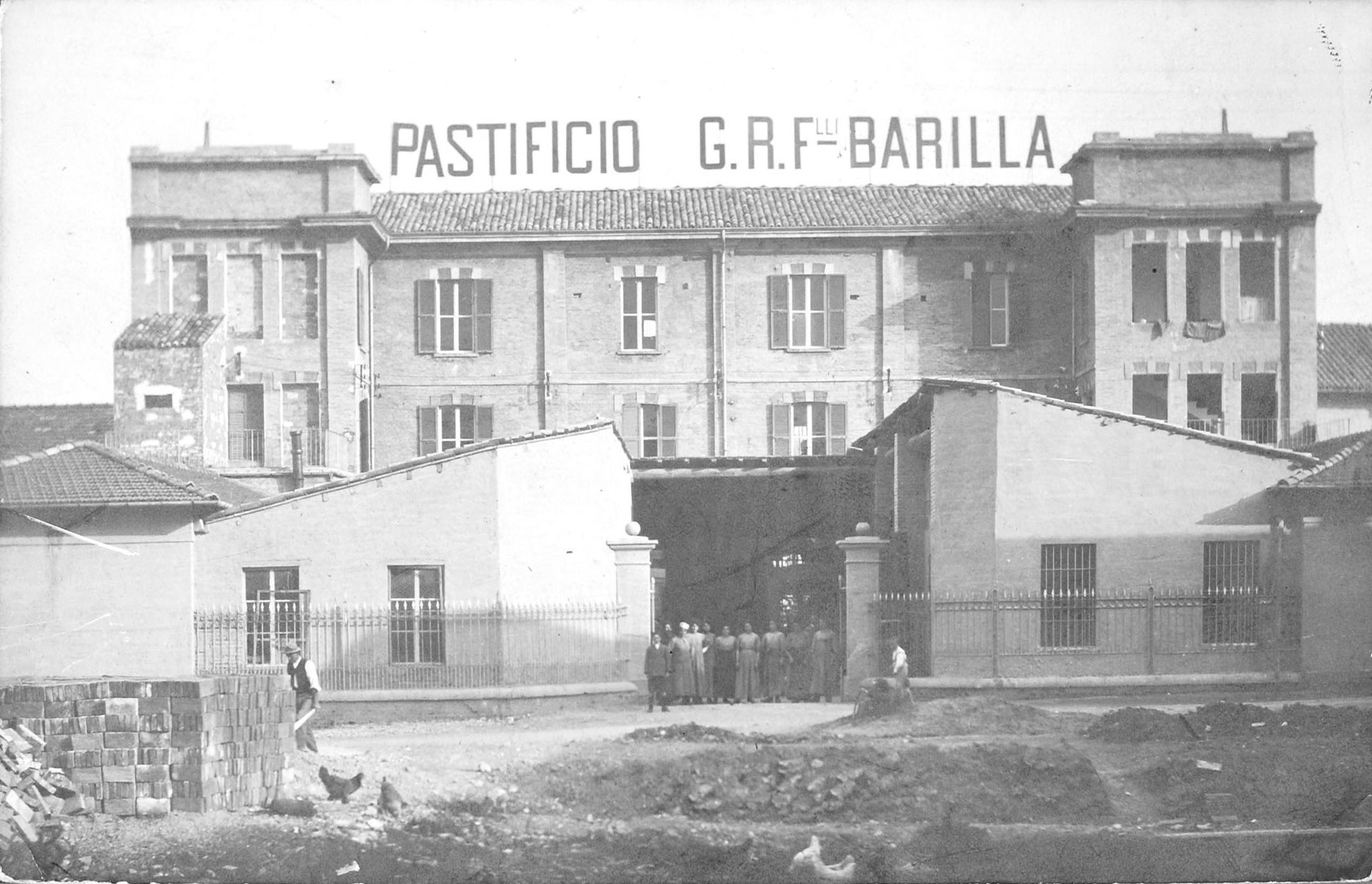 1910 - The first Barilla Plant