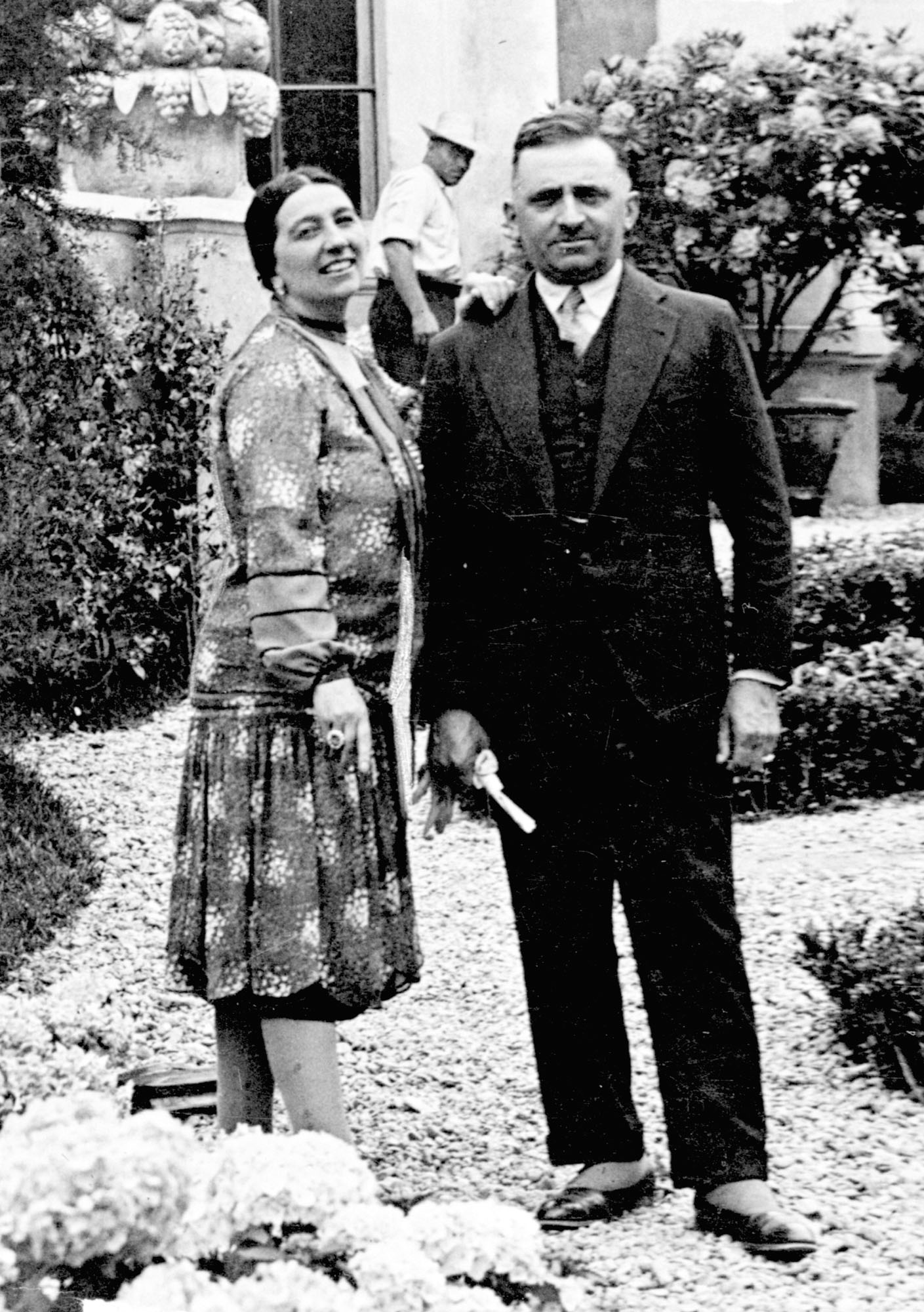 1919 - Riccardo and Virginia Barilla