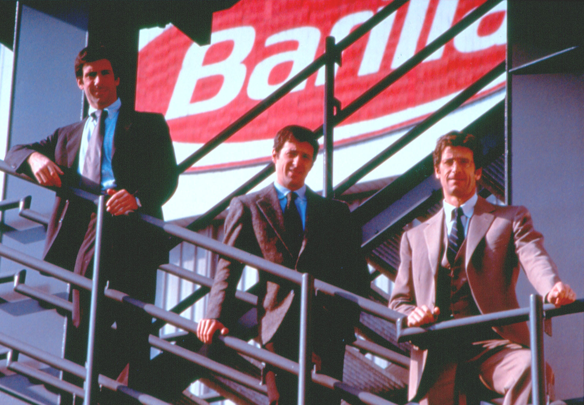 1993 - Guido, Luca and Paolo Barilla take Pietro's place at the leadership of the Company