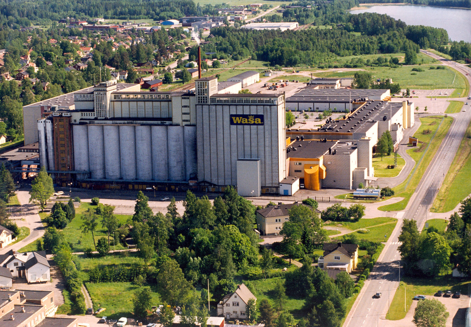 1999 - WASA plant in Sweden