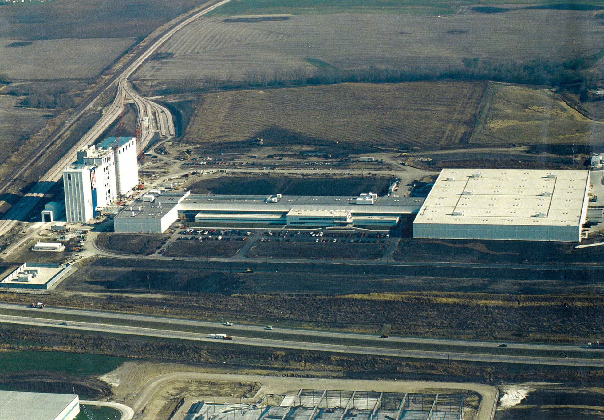 1999 - Barilla Plant is inaugurated in Ames, Iowa (USA)