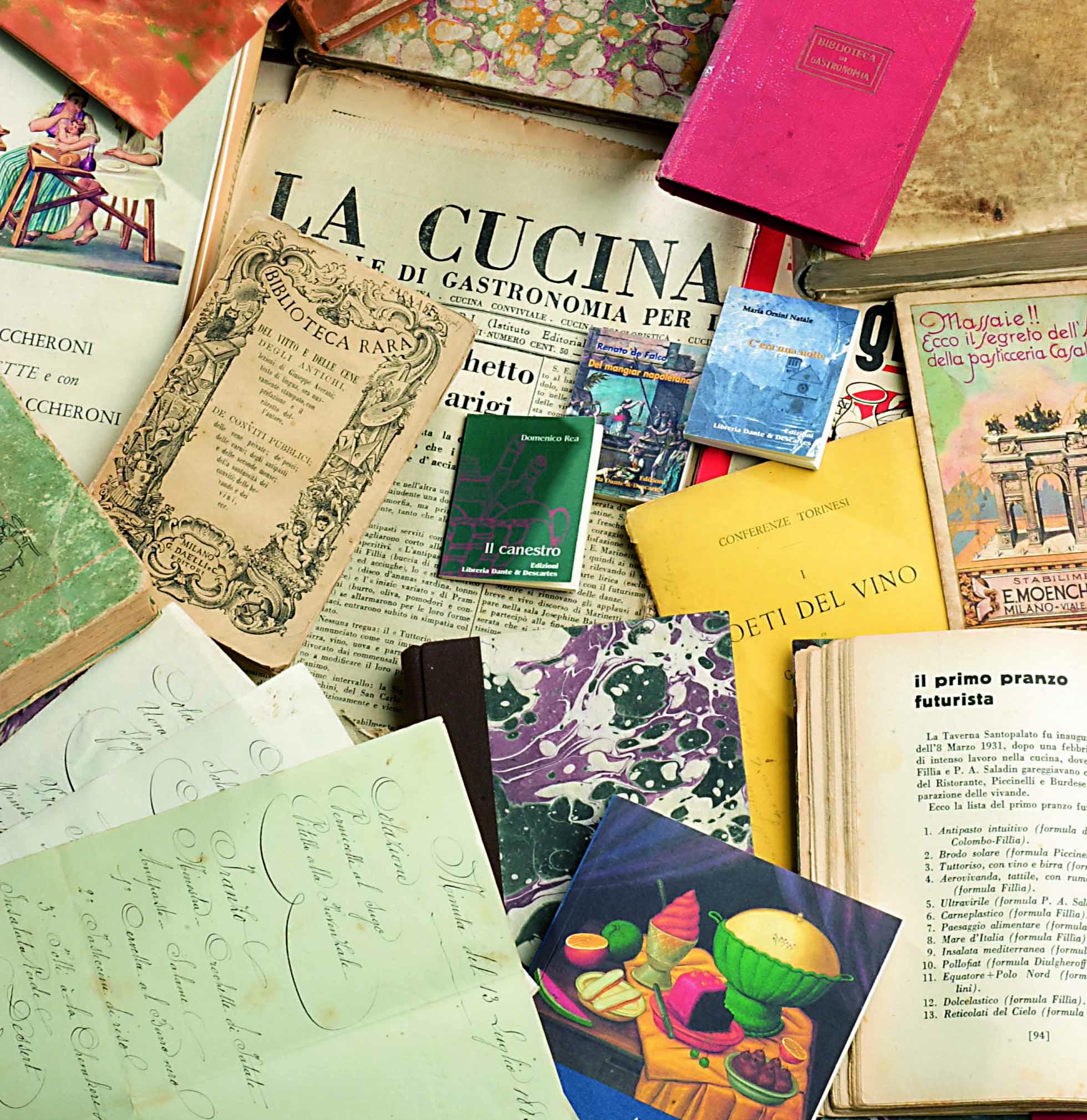The Gastronomic Library of Academia Barilla