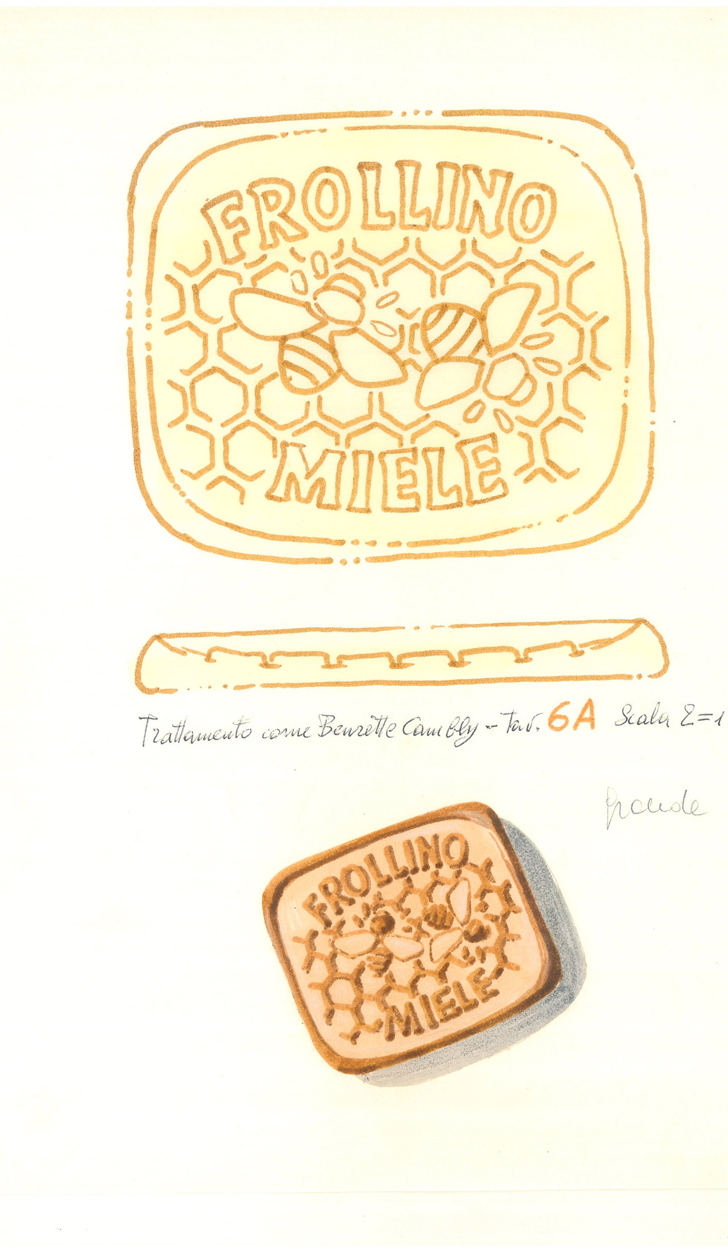Giò Rossi – layouts for Mulino Bianco Biscuits - 02