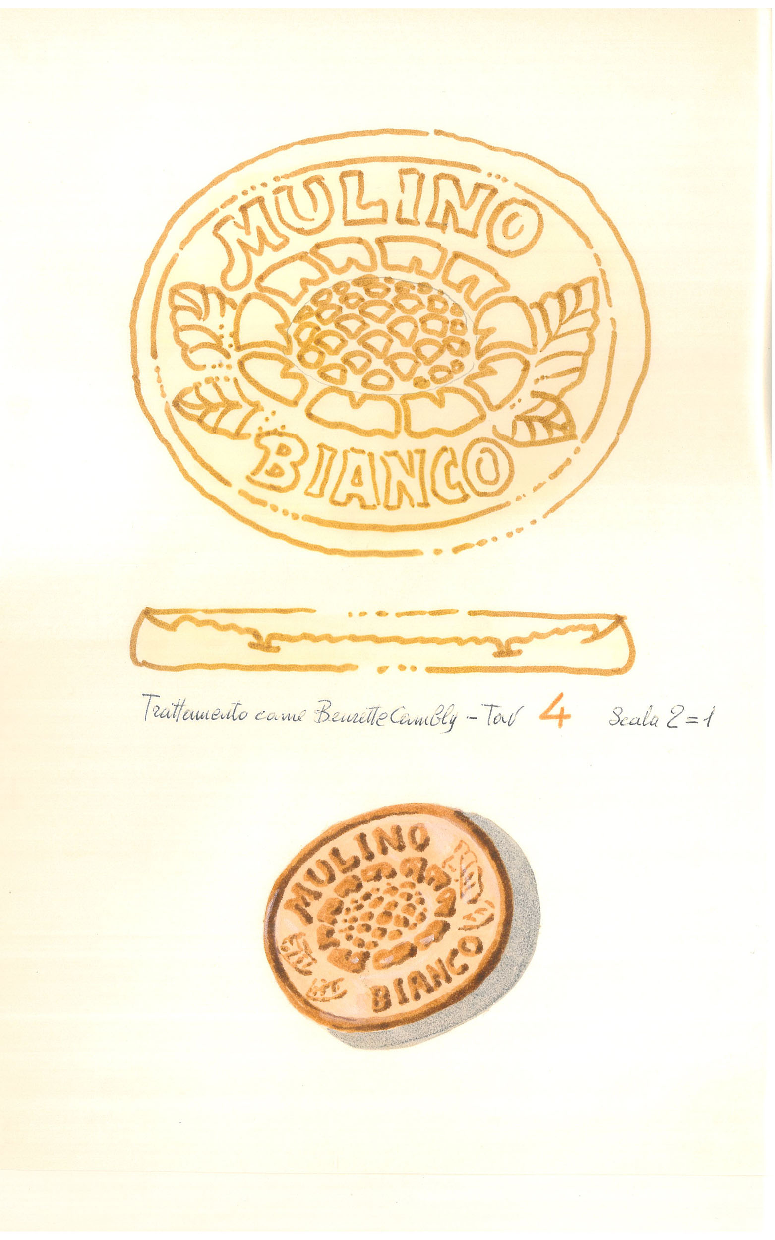 Giò Rossi – layouts for Mulino Bianco Biscuits - 03