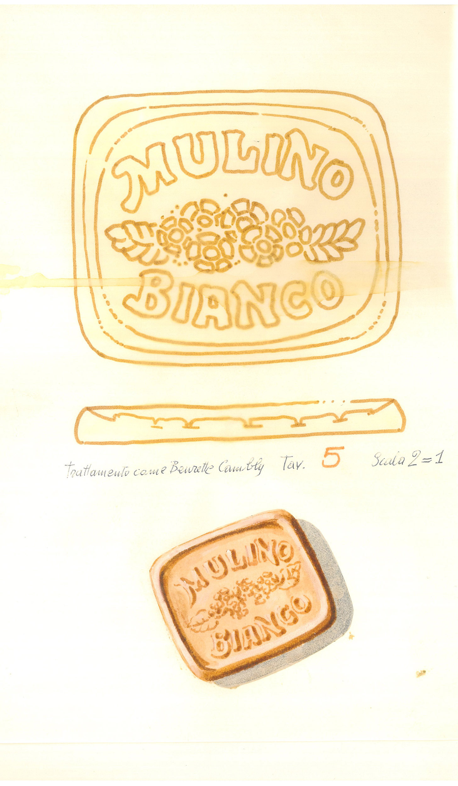 Giò Rossi – layouts for Mulino Bianco Biscuits - 05