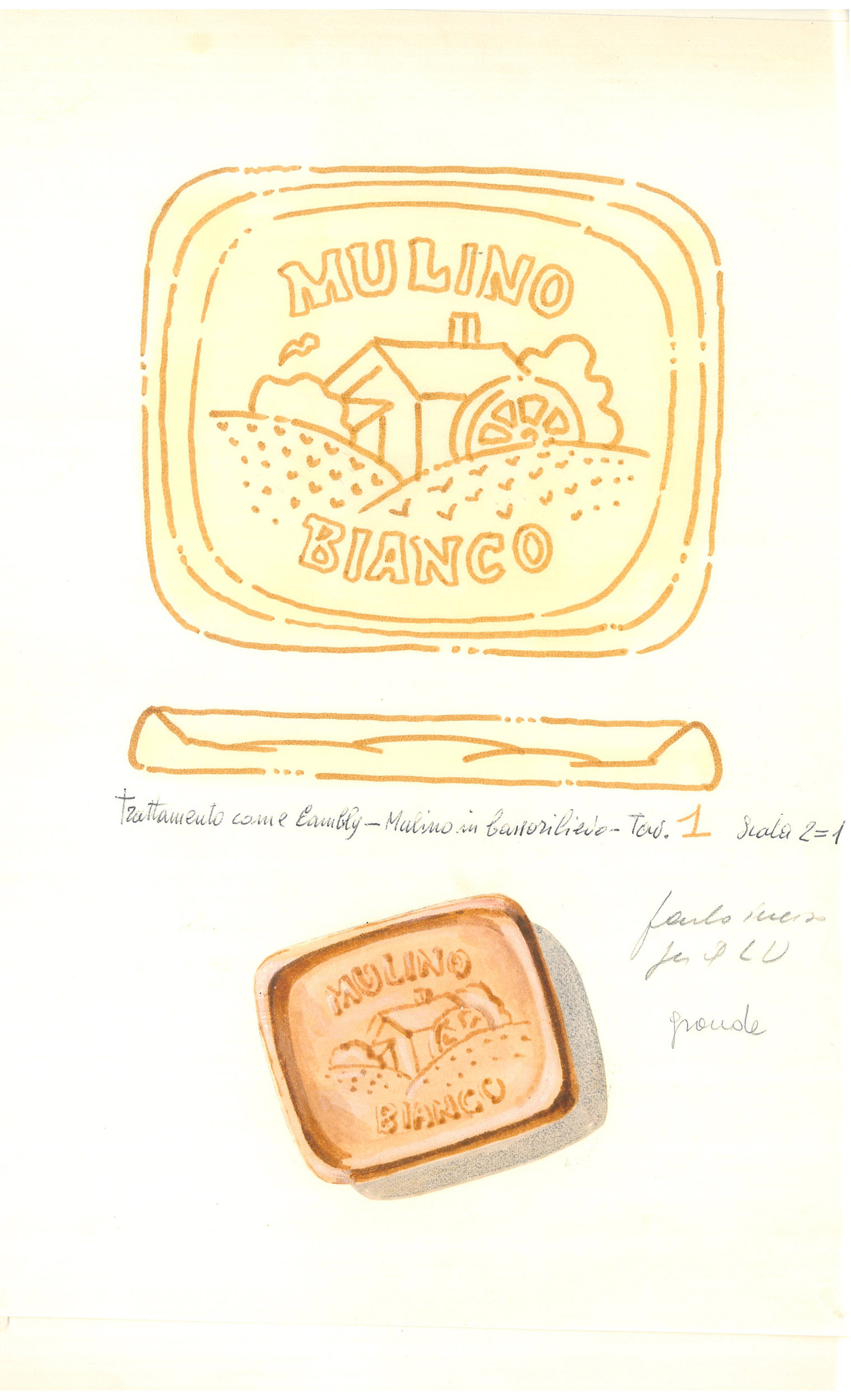 Giò Rossi – layouts for Mulino Bianco Biscuits - 06