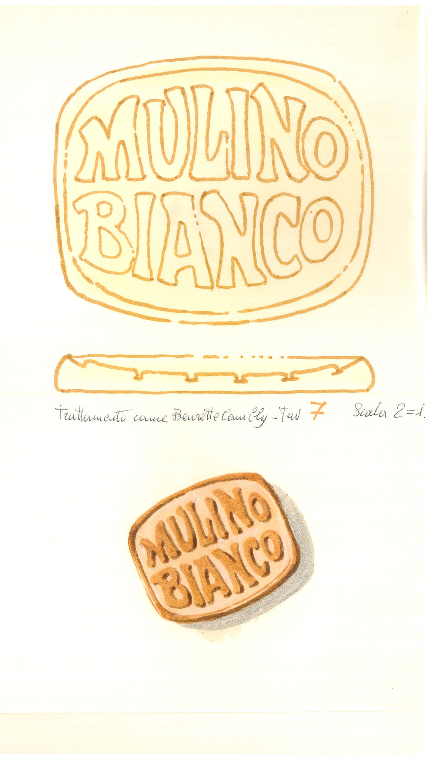 Giò Rossi – layouts for Mulino Bianco Biscuits - 07
