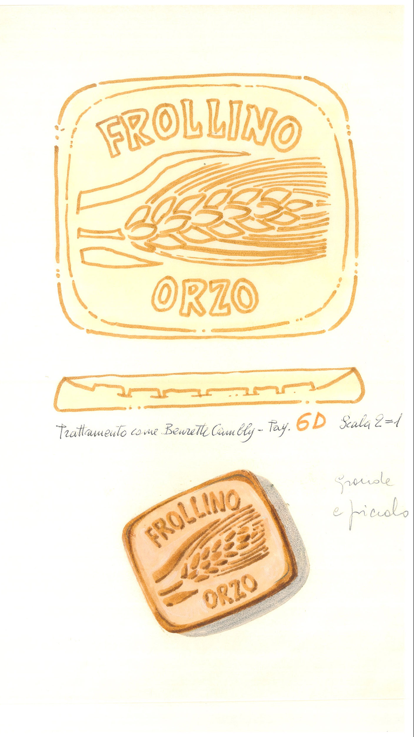 Giò Rossi – layouts for Mulino Bianco Biscuits - 09