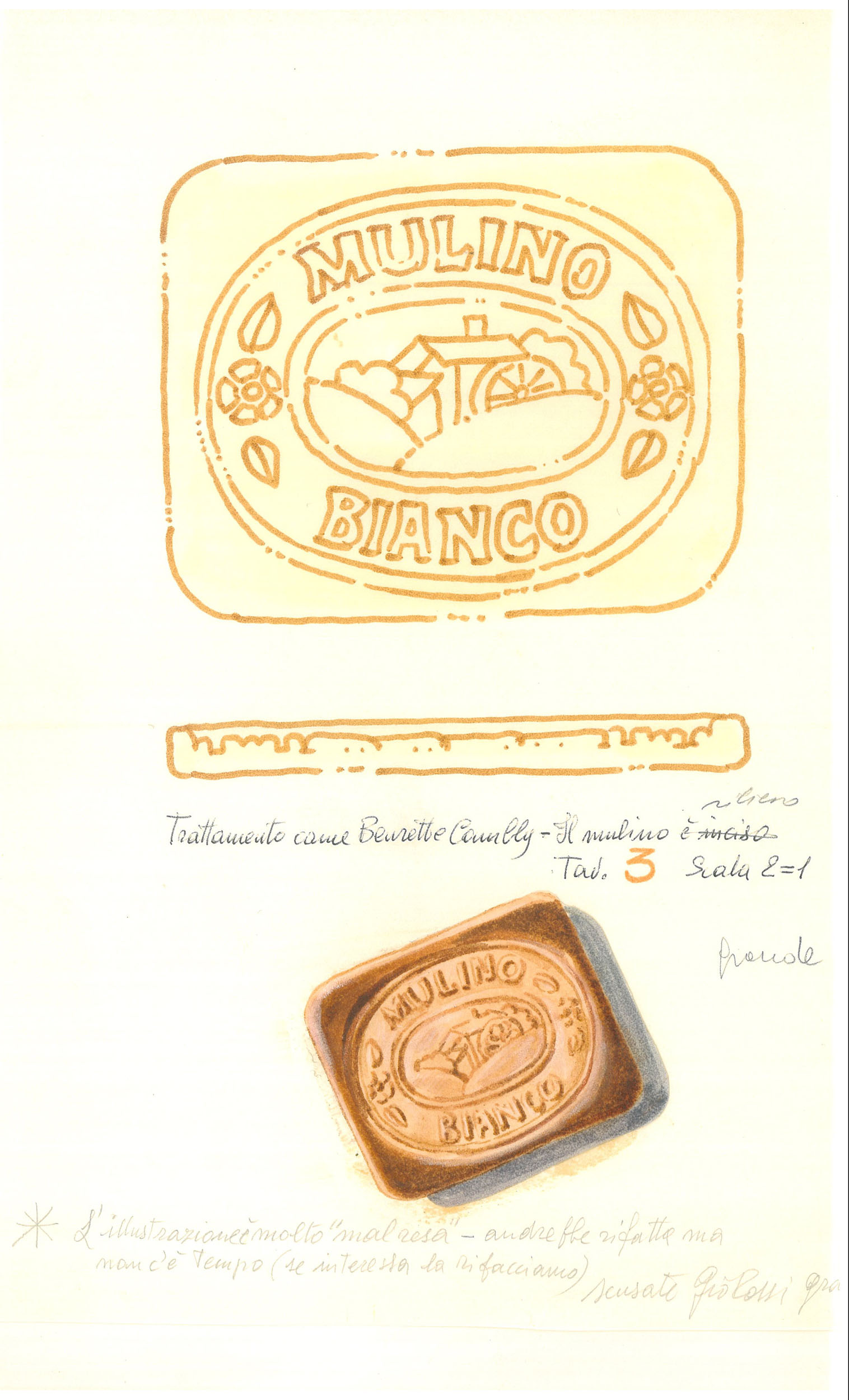 Giò Rossi – layouts for Mulino Bianco Biscuits - 11