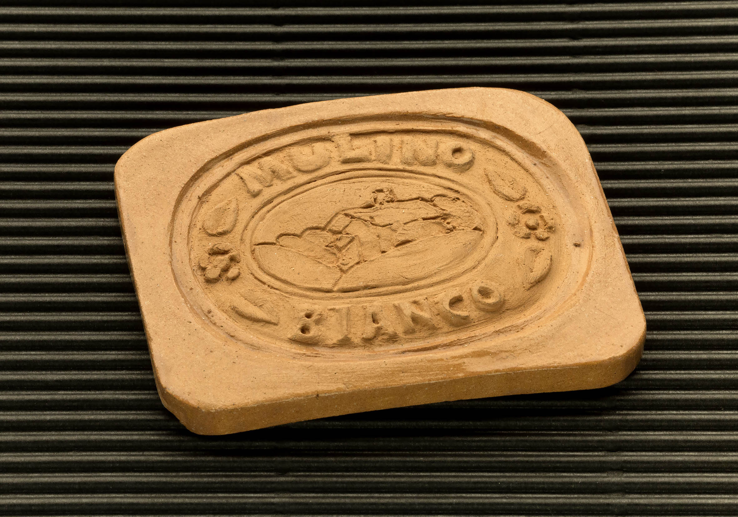 Three dimensional terracotta shapes of Mulino Bianco biscuits - 12