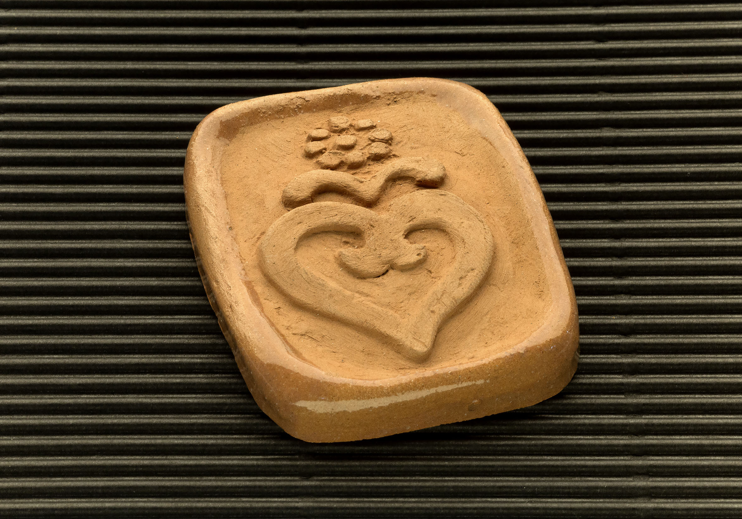 Three dimensional terracotta shapes of Mulino Bianco biscuits - 13