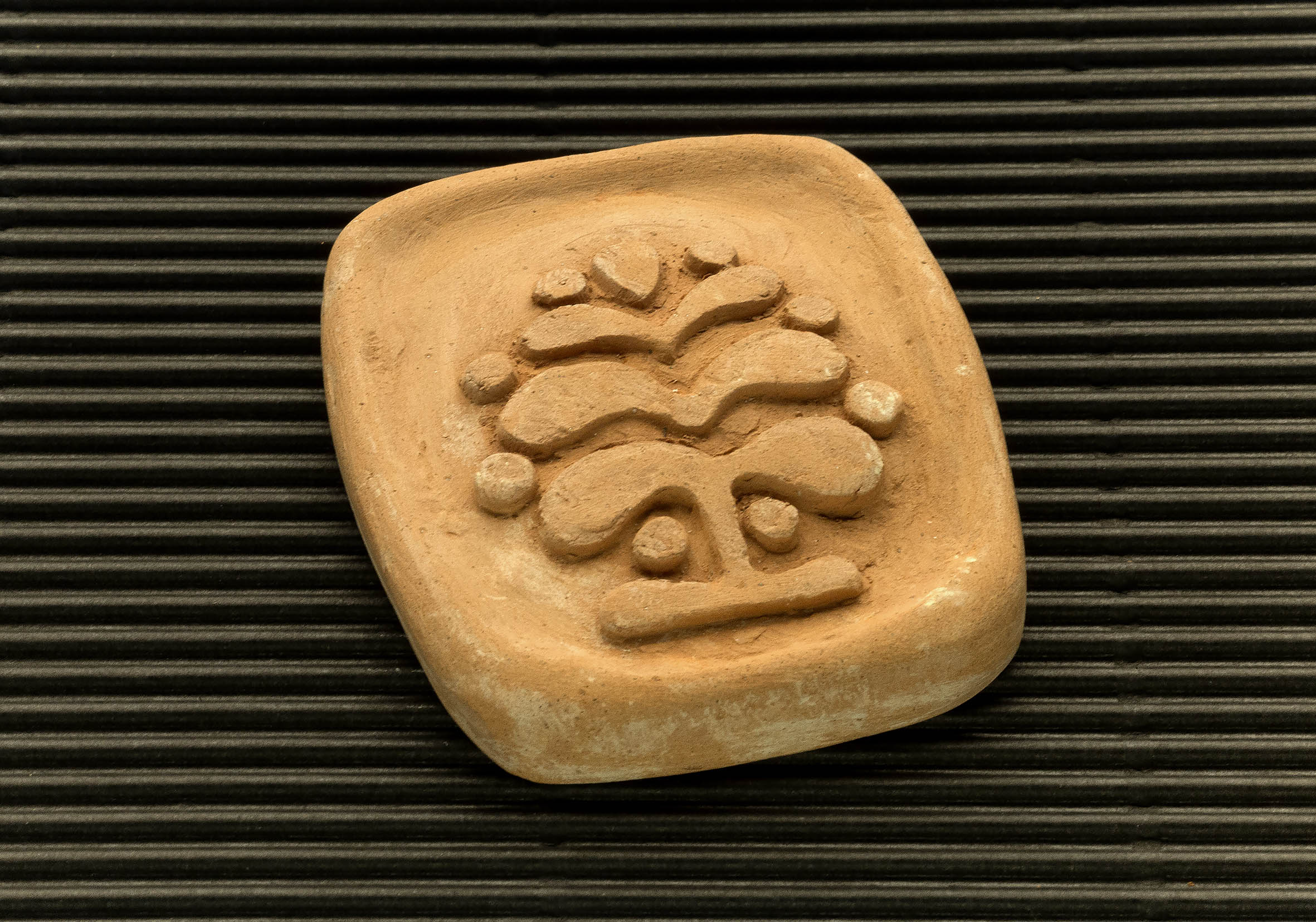 Three dimensional terracotta shapes of Mulino Bianco biscuits - 14