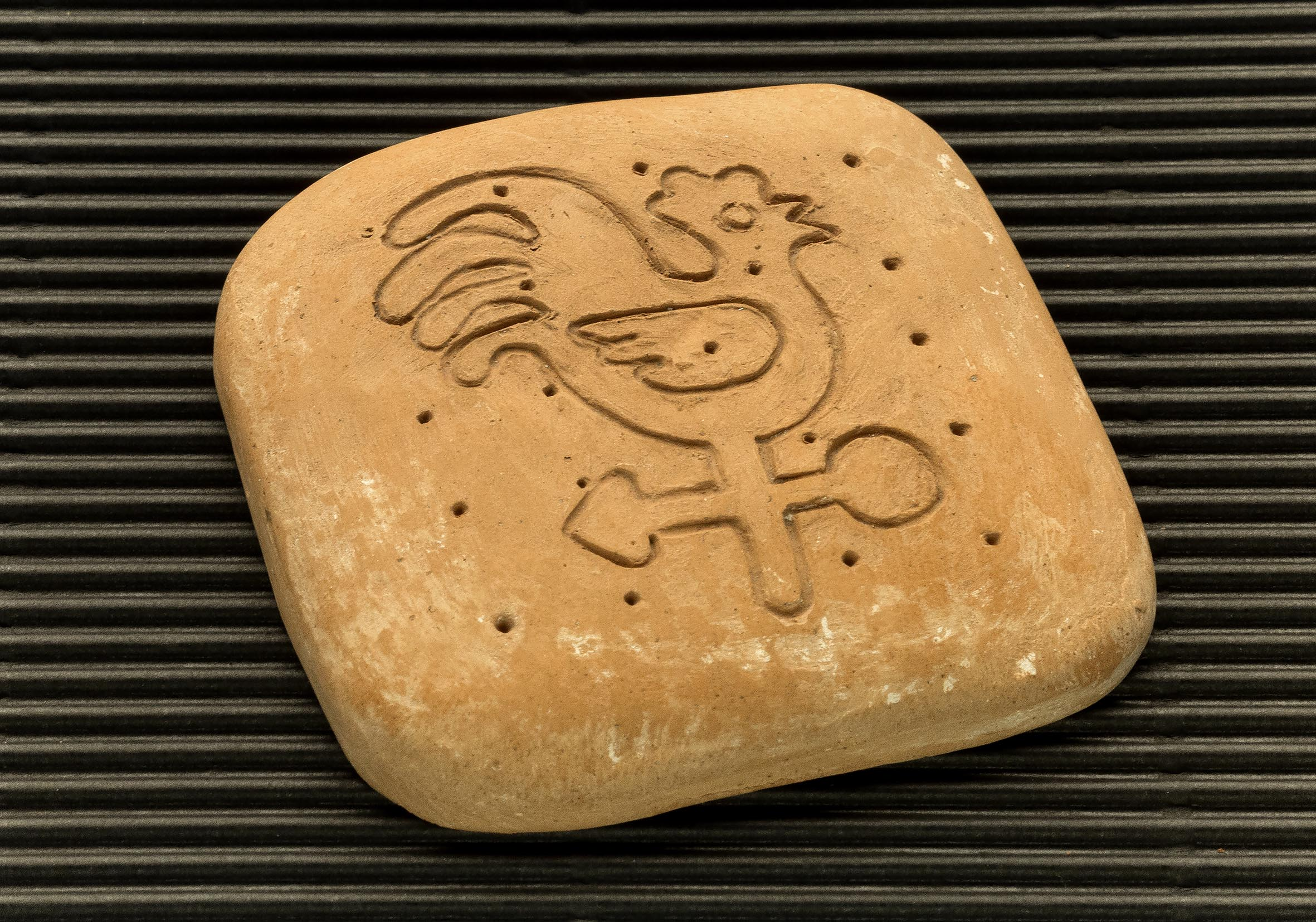 Three dimensional terracotta shapes of Mulino Bianco biscuits - 15