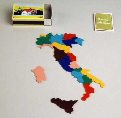 The puzzle of the Italian Regions - 1983