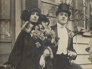 Ermelinda and Arnaldo Stevenazzi, Graziella's Aunt and Uncle, who managed a laboratory where toys and surprises were made.